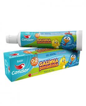 Condor Gel Dental Bambinos 1 Galinha Pintadinha - 97248