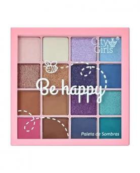 City Girls Paleta de Sombra Be Happy - CG184-B