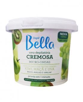 Depil Bella Cera Cremosa Micro-ondas Frutas Verdes 200g - PA1166