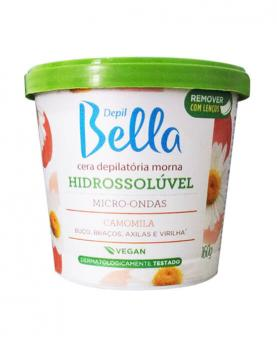 Depil Bella Cera Micro-ondas Hidrossolúvel Camomila 160g - PA1328