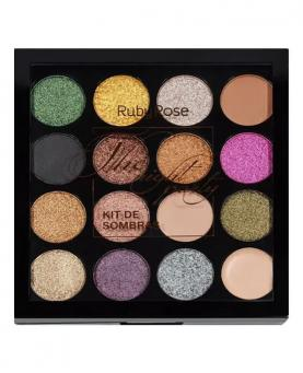 Ruby Rose Kit de Sombras The Night Party - HB1019