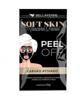 Bella Femme Máscara Facial Peel Off Carvão Ativado 10g - BF80013