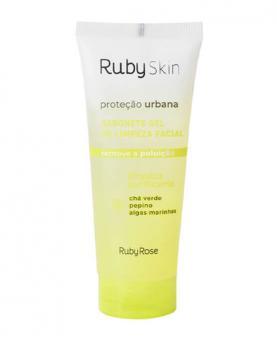 Ruby Rose Proteção Urbana Sabonete Gel Limpeza Facial 100ml - HB 326