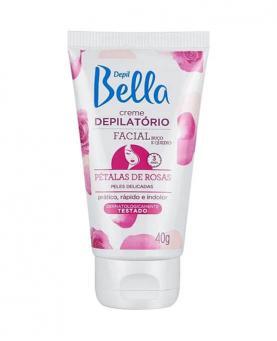 Depil Bella Creme Depilatório Facial Pétalas de Rosas 40g - PA1168
