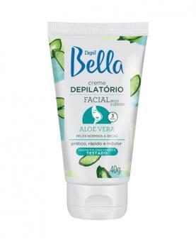 Depil Bella Creme Depilatório Facial Aloe Vera 40g - 1576
