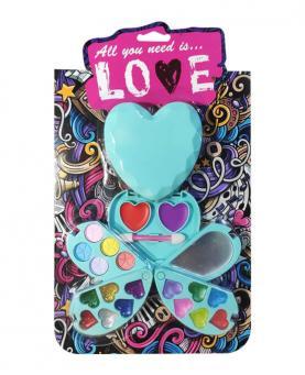 Discoteen Kit Make All you need is Love Coração Modelo A - 97938-A