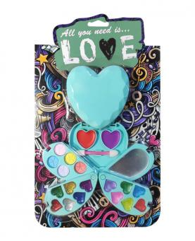 Discoteen Kit Make All you need is Love Coração Modelo B - 97938-B