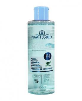 Phállebeauty Água Micelar Ácido Hialurônico 7 em 1 200ml - PH0504