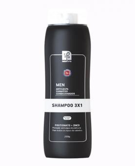 Natuflores Men Aticaspa Shampoo e Condicionador 3 em 1 200g - 17089