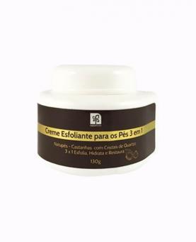 Natuflores Creme Esfoliante para os Pés 3 em 1 130g - 17409