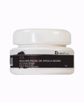Natuflores Máscara Facial Argila Negra 130g - 17262