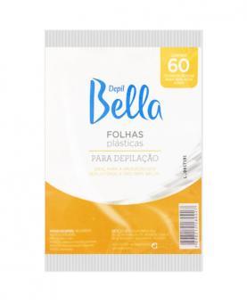 Depil Bella Folhas Plástica Depilatória com 60 folhas - PA1021