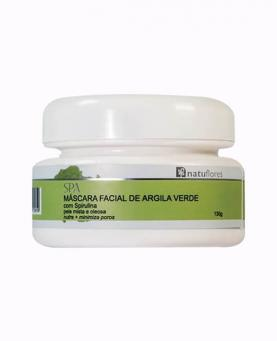 Natuflores Máscara Facial Argila Verde 130g - 17261