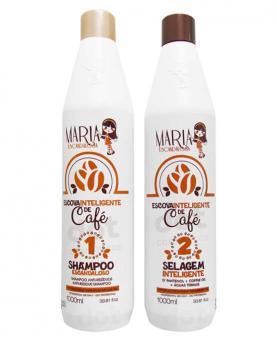 Maria Escandalosa Kit Escova Inteligente de Café 1 Litro - 81400 / 88306