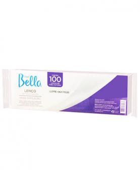 Depil Bella Lenço para Depilação com 100 unidades - PA1075