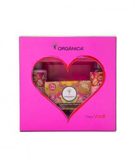 Orgânica Kit Savon Framboesa e Orquídea - 20972