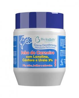 Bio Instinto Sebo de Carneiro com Lanolina, Cânfora e Ureia 3% - 18338