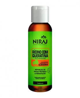 Niraj Óleo Reparador Rícino com Queratina 60ml - 4603