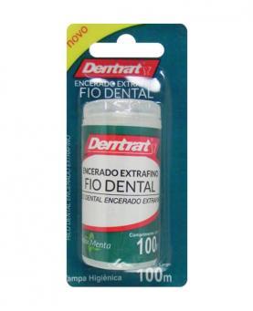 Dentrat Fio Dental Extrafino 100m - 41109