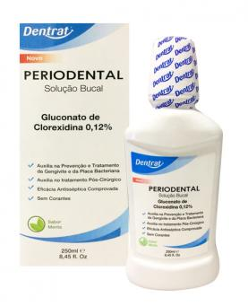 Dentrat Periodental com Álcool 250ml - 43370