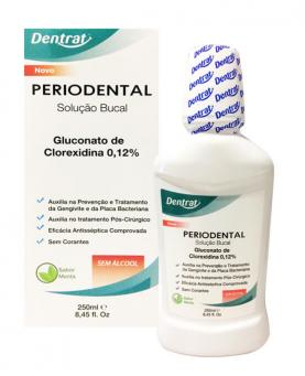 Dentrat Periodental sem Álcool 250ml - 43394