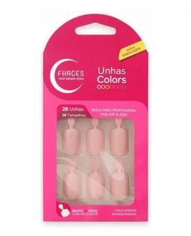 Fhaces Unhas Colors Lady Rose - U3056