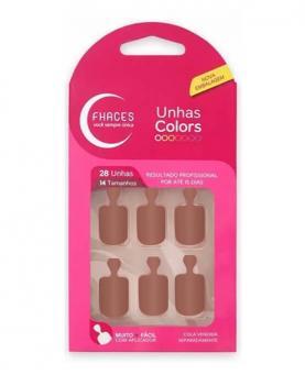Fhaces Unhas Colors Nude - U3052