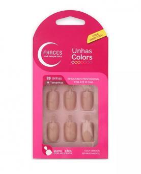 Fhaces Unhas Colors Rosa Flash - U3051