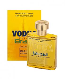 Paris Elysees Men Vodka Brasil Yellow 100ml - 2975