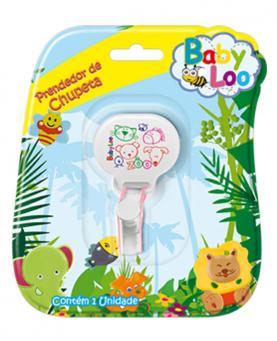Baby Loo Prendedor de Chupeta de Silicone - 59