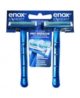 Enox Aparelho de Barbear com 2 unidades - 1750