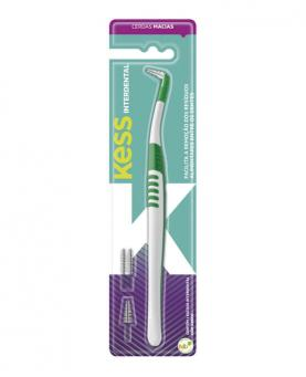 Kess Escova Dental Interdental com 4 Refil - 1990