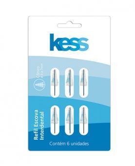 Kess Refil Interdental Cônico com 6 unidades - 1993