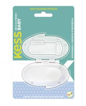 Kess Escova Dental Massageadora com Protetor - 2038