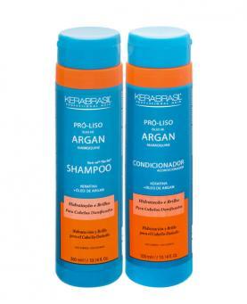 Kera Brasil Argan Kit Shampoo + Condicionador 300ml - 23010