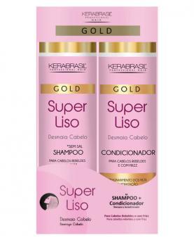 Kera Brasil Desmaia Cabelo Kit Shampoo + Condicionador 300ml - 44254