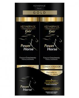 Kera Brasil Power Horse Kit Shampoo + Condicionador 300ml - 44285