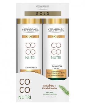 Kera Brasil Coco Nutri Kit Shampoo + Condicionador 300ml - 44469