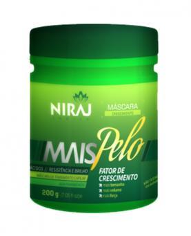 NIraj Mais Pelo Máscara Capilar 200g - 4347