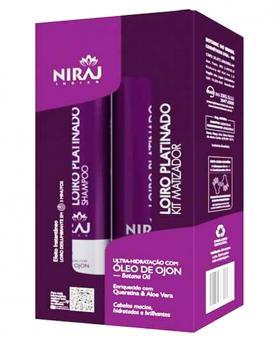 Niraj Kit Matizador Platinado com Óleo de Ojon Shampoo + Condicionador - 4043