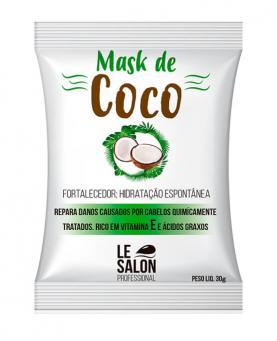 Le Salon Máscara de Coco Sachê 30g - 2279