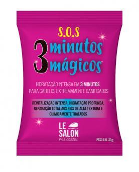 Le Salon Máscara S.O.S  Hidratante 3 Minutos Mágicos - 2753