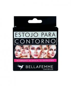 Bella Femme Estojo Contorno Facial - BF10042