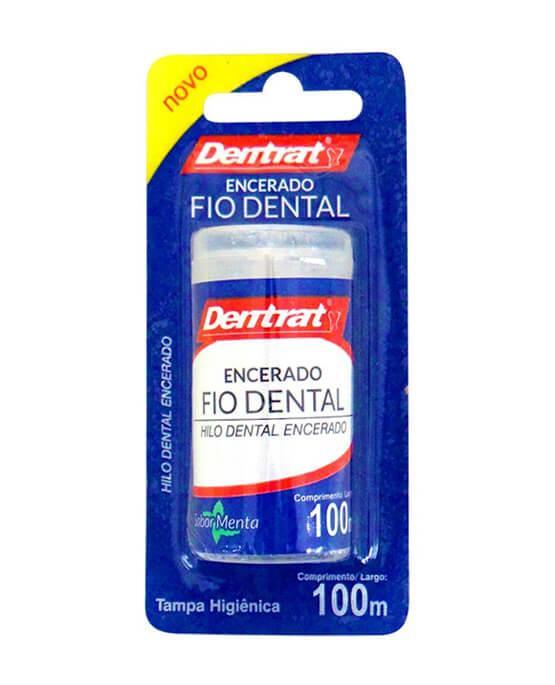 56b623b33 Dentrat Fio Dental Encerado 100 metros - 84112