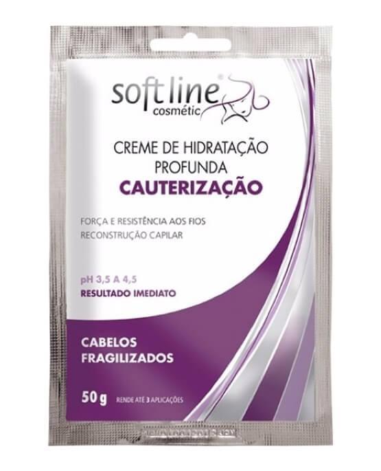 3008c4aa4 Soft line Sachê Creme de Hidratação Profunda Cauterização 50g - 52358