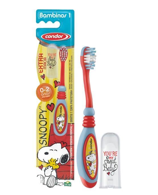 228672609 Condor Escova Bambinos 1 Snoopy - 97929